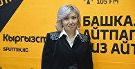 Коммерциялык банктардын биринин Бишкек филиалынын жетекчисинин орун басары Индира Турусбекова. Архив