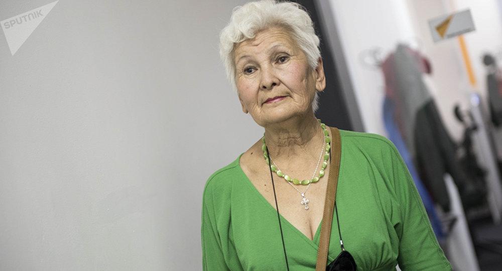 Волонтер Зинаида Анатольевна