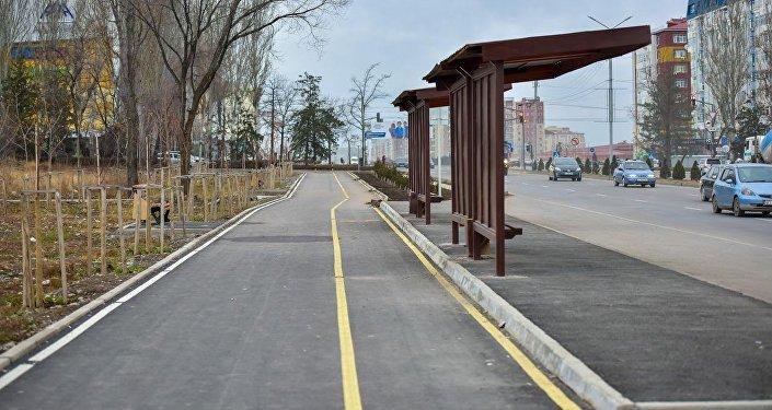 Общая протяженность пешеходной зоны составила 7,2 километра