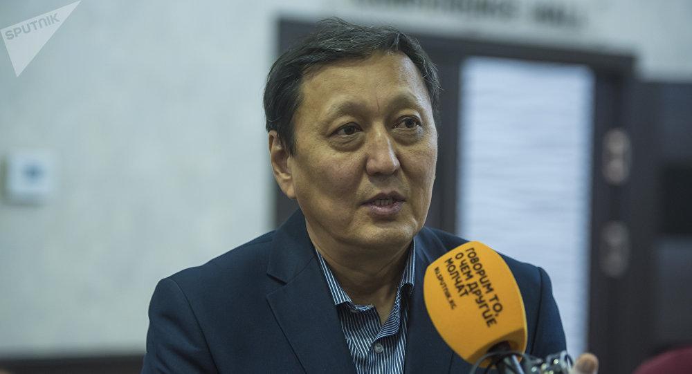Вице-президент Кыргызского союза промышленников и предпринимателей Шамиль Борончиев
