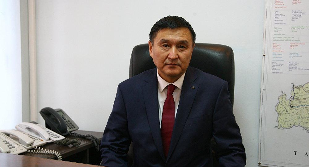 Заместитель министра транспорта и дорог Азимкан Жусубалиев