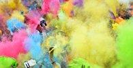 Фестиваль красок Холи. Архивное фото