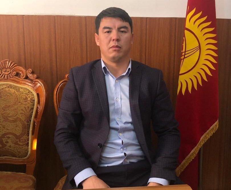 Назначенный директором муниципального предприятия Ош-Тазалык Нурбек Исмаилов