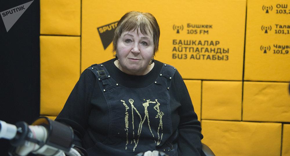 Представитель Центра защиты детей Фатима Аллоярова