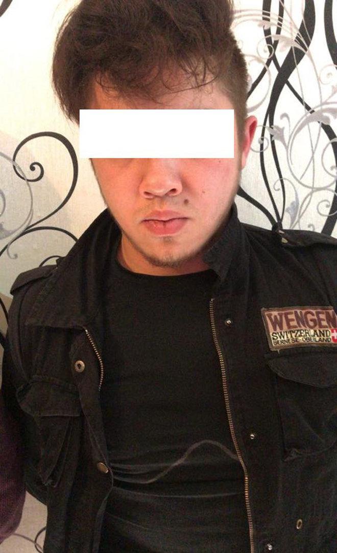 Подозреваемый в разбойном нападении на аптеку в Бишкеке