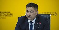 Начальник производственно-диспетчерской службы Газпром Кыргызстан Надырбай Турдуматов встретился со студентами в рамках образовательного проекта SputnikBilim