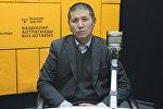 Замглавы Управления городского транспорта мэрии Бишкека Нурлан Атыканов