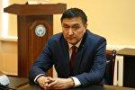 Транспорт жана жолдор министрлигинин мурунку орун басары Азимкан Жусубалив. Архив