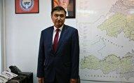 Задержанный со взяткой заместитель министра транспорта и дорог Азимкан Жусубалиев. Архивное фото