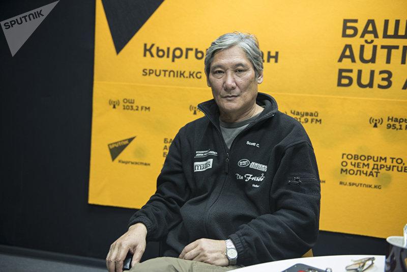 Ветеран отечественной журналистики Талант Джумабаев