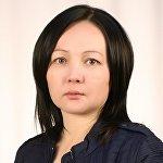 Литературный редактор кыргызской версии сайта Sputnik Кыргызстан Нурзада Ташбаева
