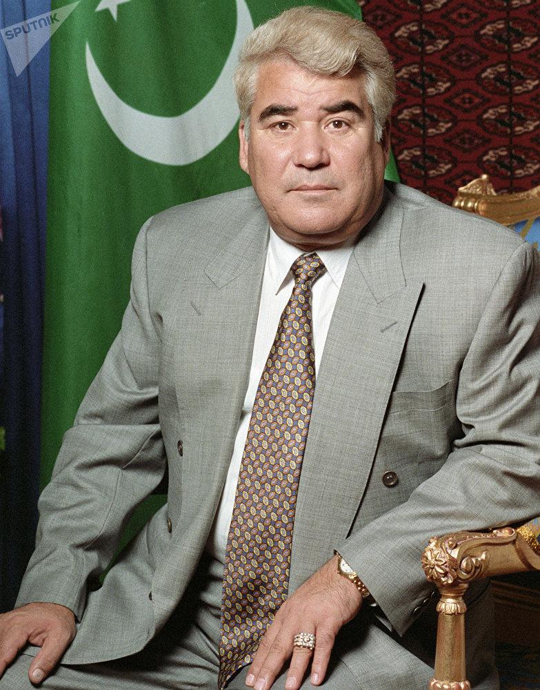 Президент Туркменистана Сапармурат Ниязов.