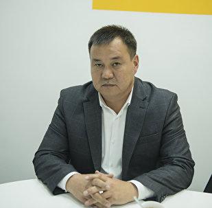 Глава Муниципальной администрации мэрии Бишкека по Первомайскому району Токтосун Султанов. Архивное фото