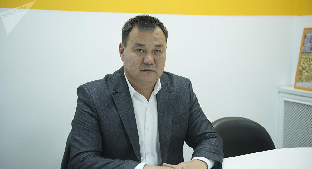 Бишкек шаарынын Биринчи май районунун акими Токтосун Султанов