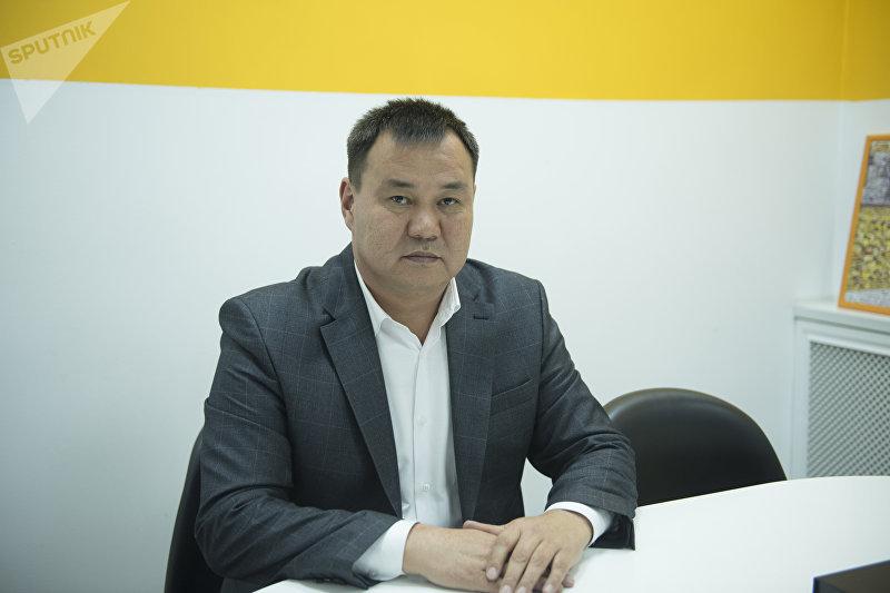 Глава Муниципальной администрации мэрии Бишкека по Первомайскому району Токтосун Султанов
