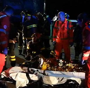 Десятки пострадавших — видео последствий давки на концерте в Италии