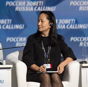 Главный исполнительный директор Huawei Technologies Мэн Ваньчжоу. Архивное фото
