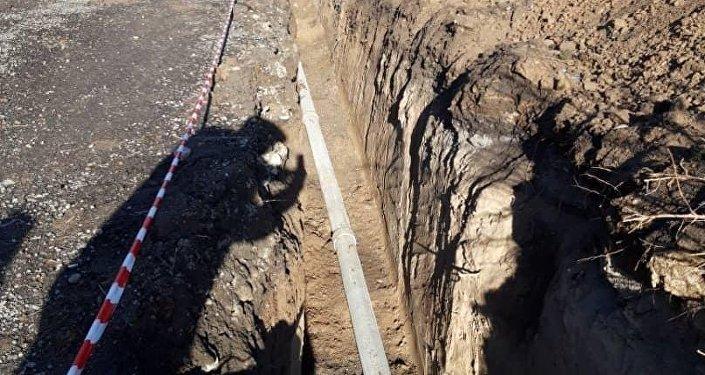 В Бишкеке за 2018 год построили восемь километров канализационных сетей