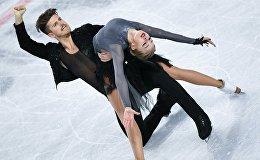 Александра Степанова менен Иван Букин көркөмдөп муз тебүү боюнча Гран-принин финалында