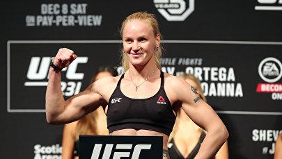 Кыргызстанкский боец UFC Валентина Шевченко. Архивное фото