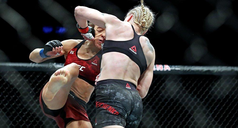 Чемпионский бой между Валентиной Шевченко и Джоанной Енджейчик на турнире UFC 231 в Канаде