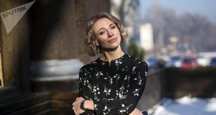Ведущая и журналист Наталья Кролевич
