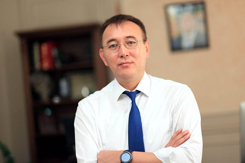Председатель Национального банка КР Толкунбек Абдыгулов