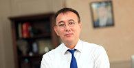 Архивное фото председателя Национального банка страны Толкунбека Абдыгулова