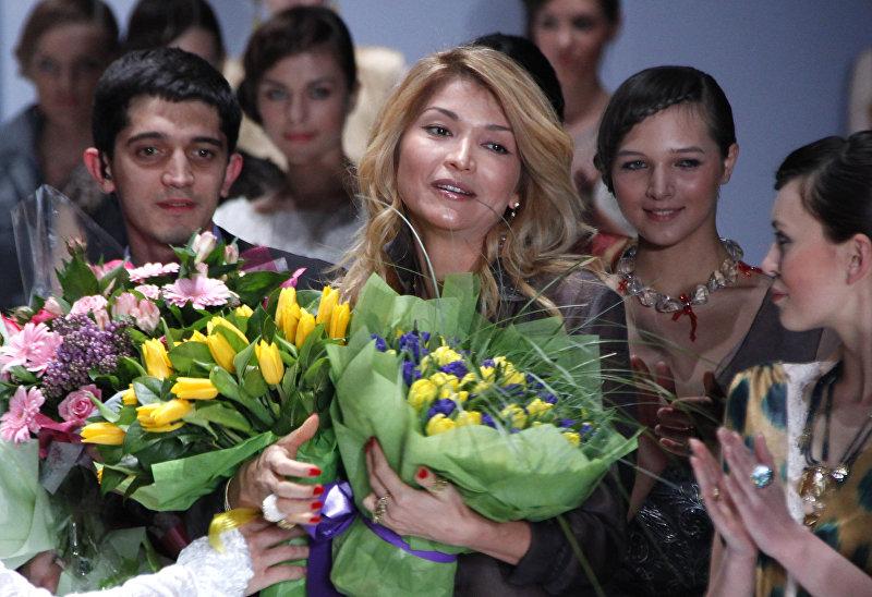 Показ GULI, авторского бренда Гульнары Каримовой, на Неделе моды Merсedes-Benz Fashion Week