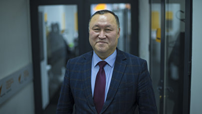 Мамлекеттик ипотекалык кредит компаниясынын төрагасы Бактыбек Шамкеев