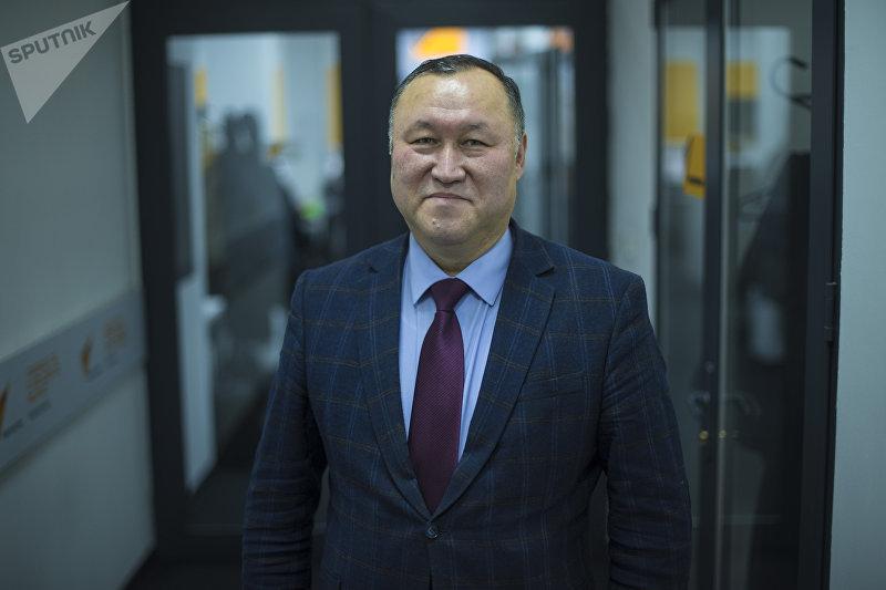 Председатель правления ОАО Государственная Ипотечная Компания Бактыбек Шамкеев