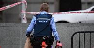 Жаңы Зеландиянын полиция кызматкери. Архив