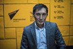Кыргыз билим берүү академиясынын вице-президенти Улан Мамбетакунов. Архив