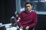 Автор скульптуры памятника Чингизу Айтматову в Москве Азамат Абдрахманов