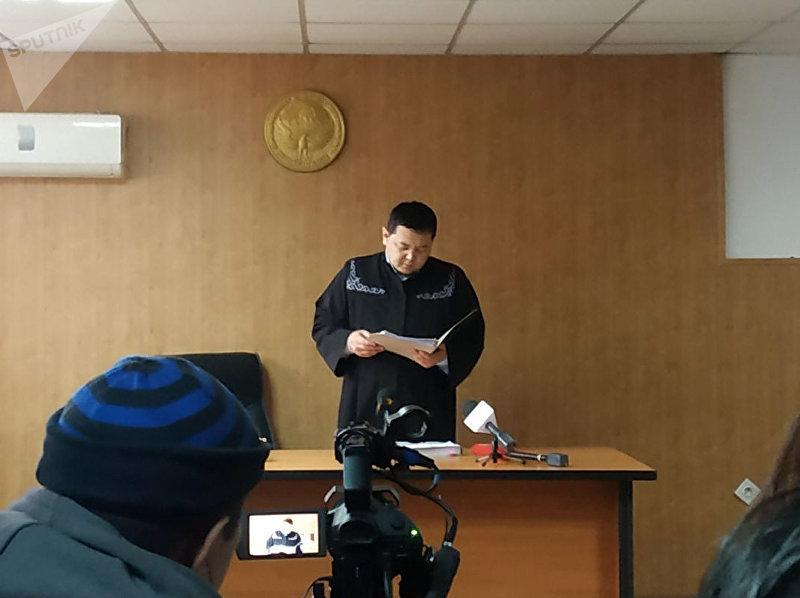 Свердловский районный суд вынес приговор по делу об убийстве 19-летней Бурулай Турдали кызы, осужденный Марс Бодошев получил 20 лет лишения свободы в колонии строгого режима с конфискацией имущества.