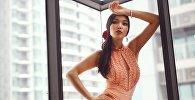 Кыргызстанская модель Мээрим Жумабаева, которая представит страну на мировом студенческом конкурсе красоты World Miss University — 2018