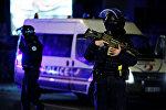 Страсбургтагы полиция кызматкерлери. Архивдик сүрөт