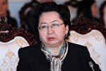 Назначенная министром финансов КР Бактыгуль Жээнбаева. Архивное фото