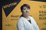 Педагогика илимдеринин кандидаты, психолог Кадиян Бообекова. Архив