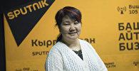 Психолог, педагогика илимдеринин кандидаты Кадиян Бообекова. Архивное фото