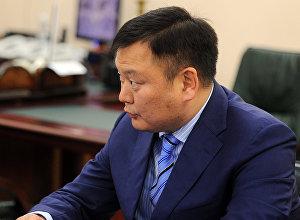 Экс-вице-премьер Дуйшенбек Зилалиев. Архивное фото