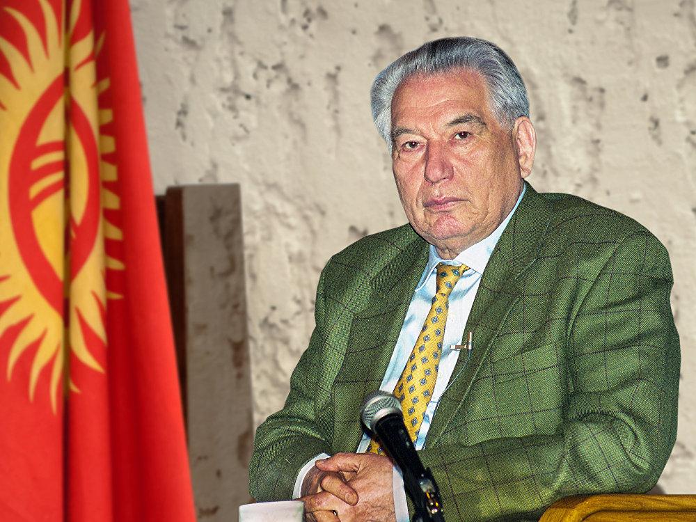Залкар жазуучу, гуманист, философ, планетардык инсан Чыңгыз Айтматов. Бишкек, 2016-жыл, Кино Үйүндө