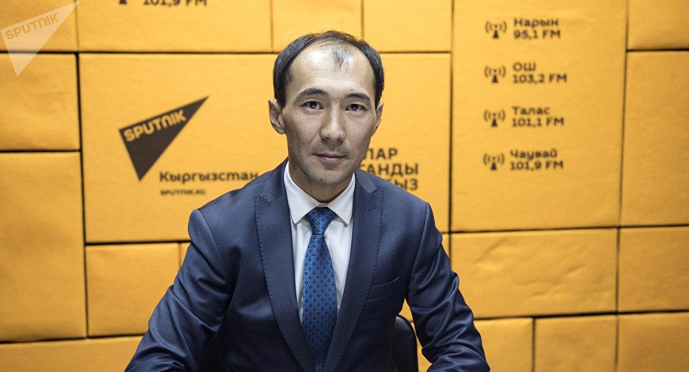 Заместитель акыйкатчи КР Ерлан Алимбаев