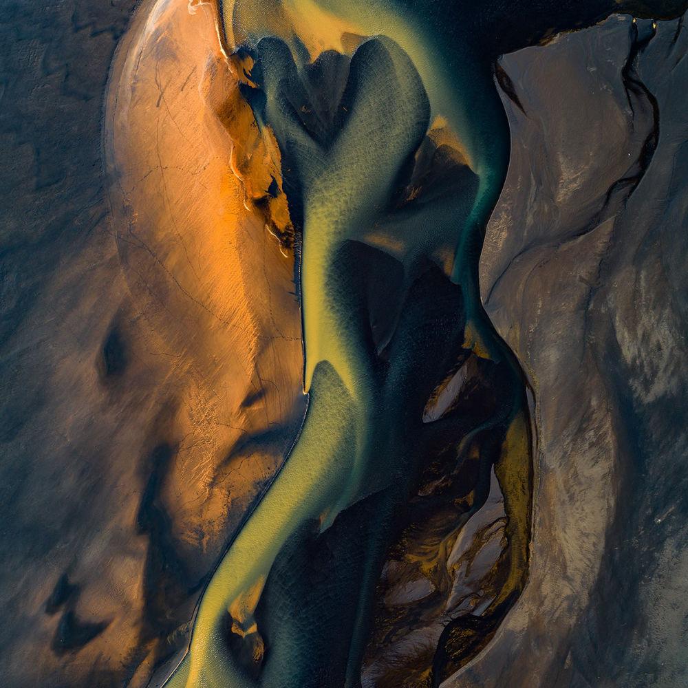 Река Аффаль в Исландии