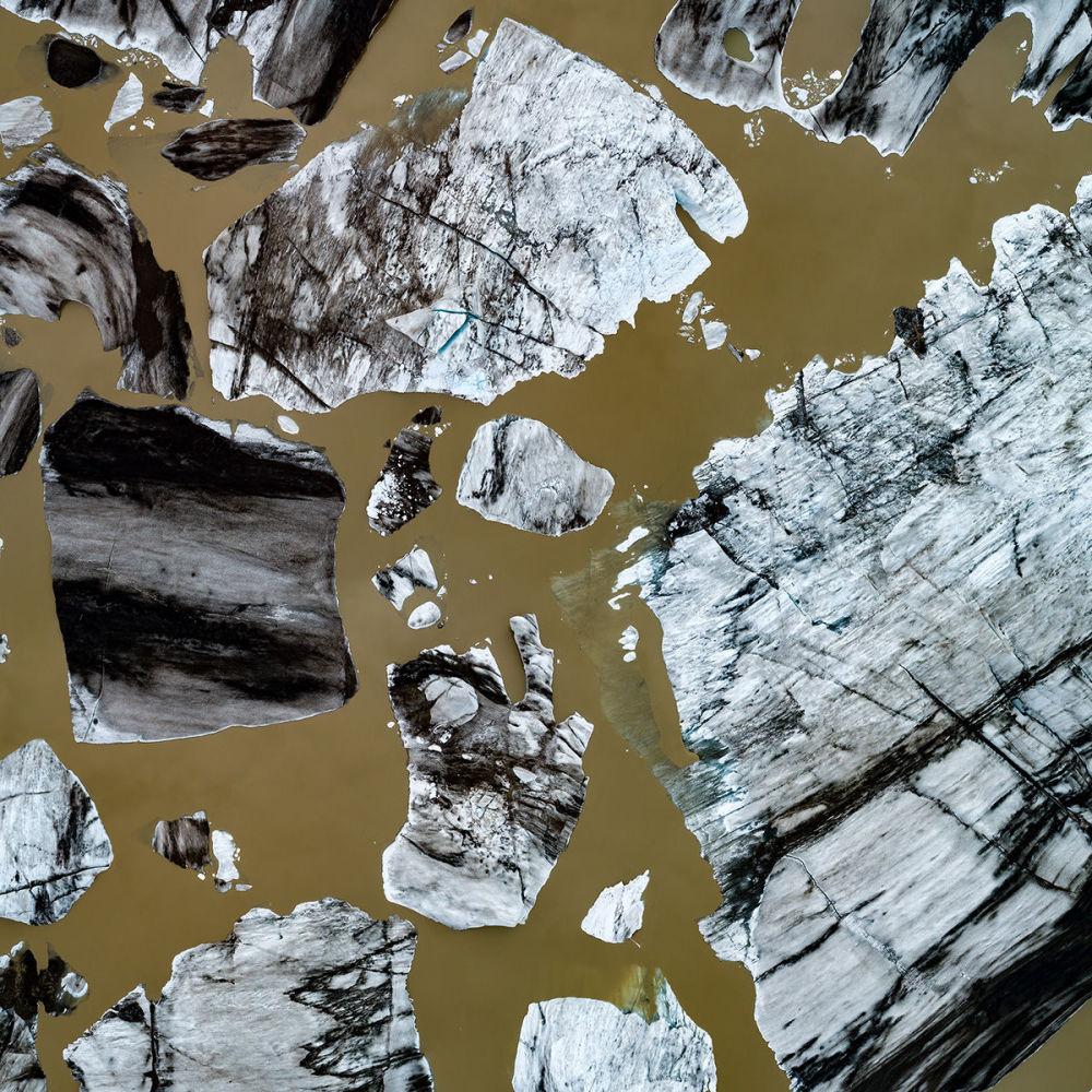 Айсберги в территориальных водах Исландии