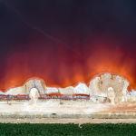 Укрепление дамбы для защиты от токсичных отходов производства алюминия в Галисии, Испания