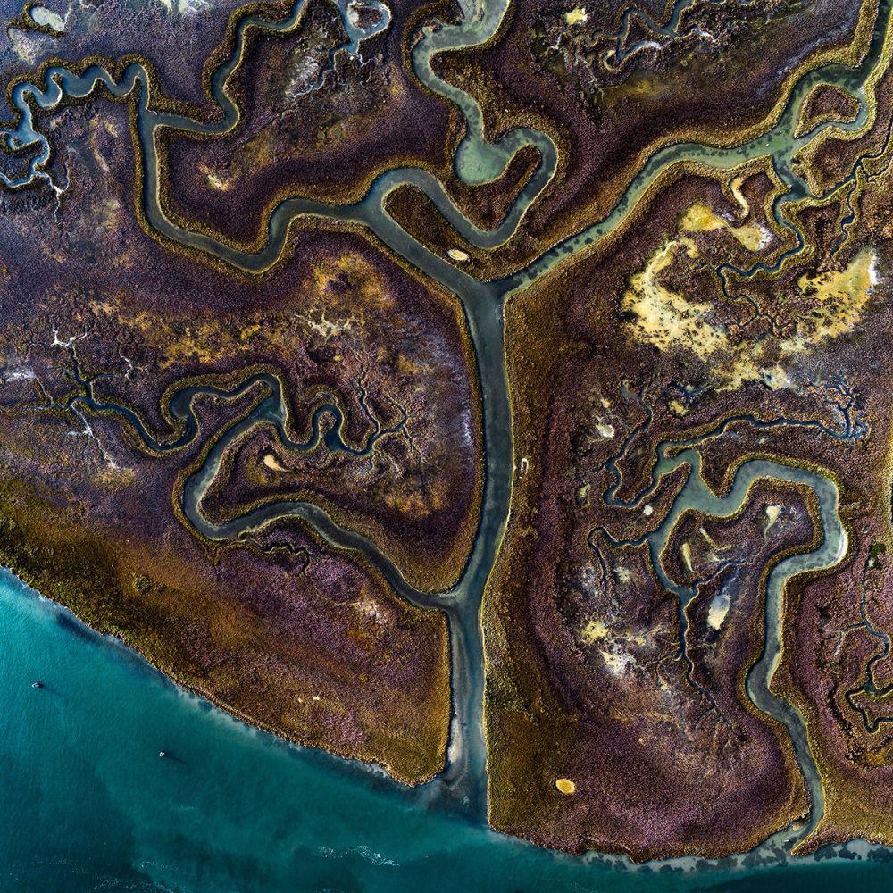 Каналы на одном из островов Венеции