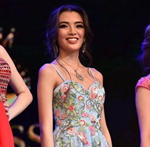 Победительница конкурса красоты Мисс Астана — 2018 Еркеназ Сейфулла