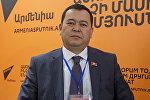 Жогорку Кеңештин төрагасынын орун басары Мирлан Бакиров. Архивдик сүрөт