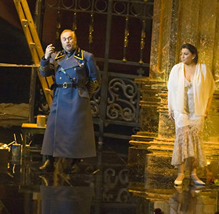 Опера Тоска. Архивное фото